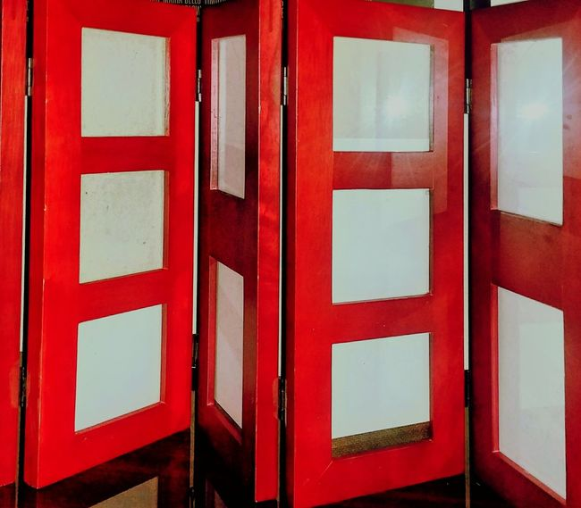 EyeEm Selects Red Indoors  Memories Picture Frame No People Close-up Hinges Hinge Days Gone By Glass Reflection