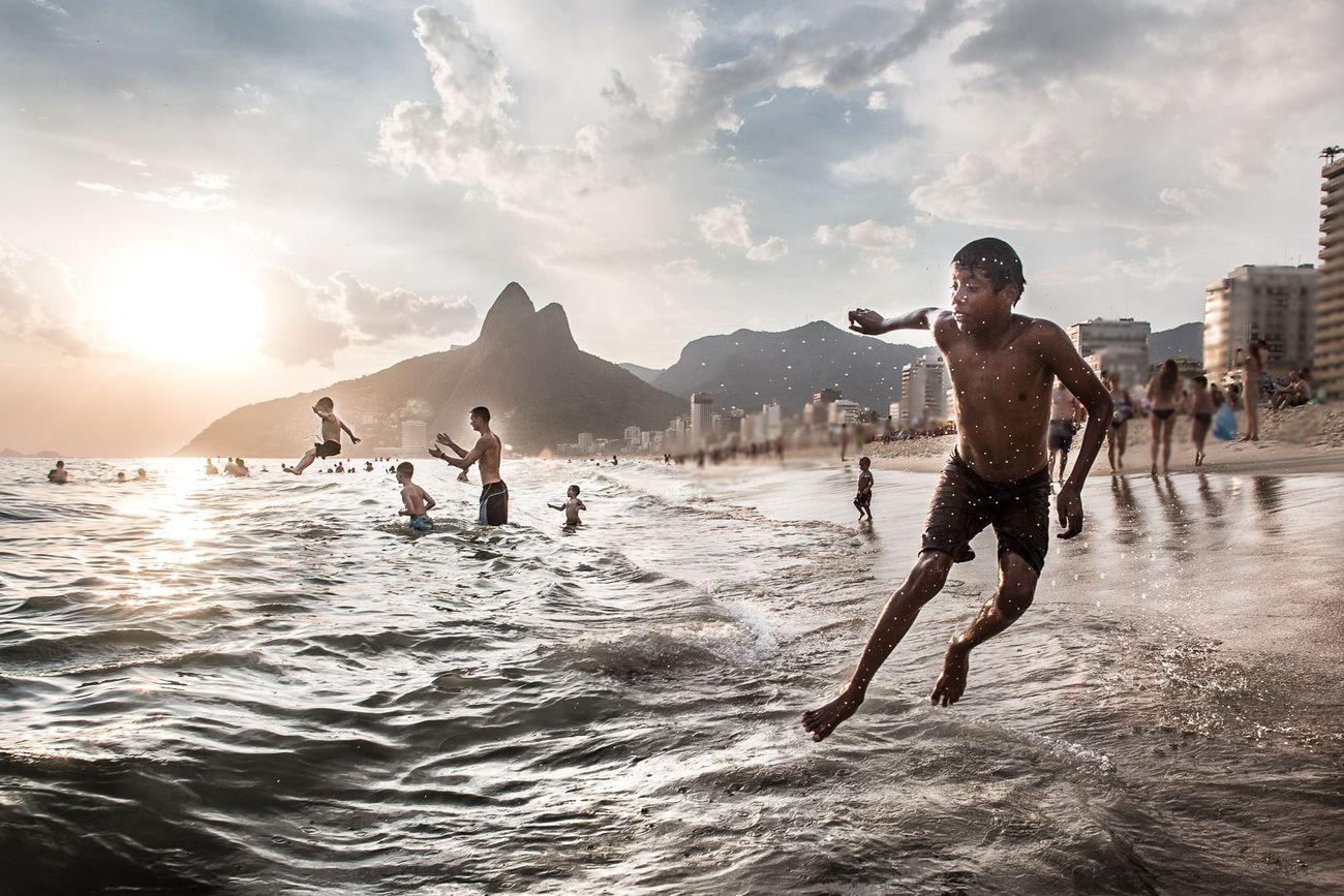 water, lifestyles, leisure activity, sea, sky