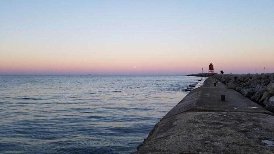 Naturelovers Tranquility Walking Outdoors Sunset Sky Full Length Beach