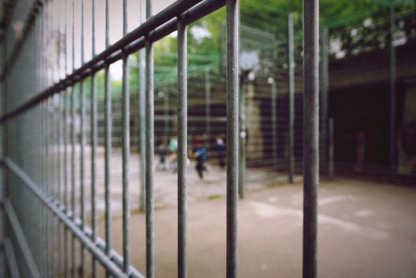 Play like a kid Metal Focus On Foreground Futball Kids Playground Vienna Austria Donaukanal Urban Street Sony A6000 Sony