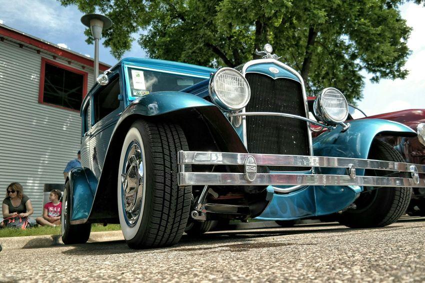 Ford Merica Cars Car Show Vintage Cars America Hot Rod Blue