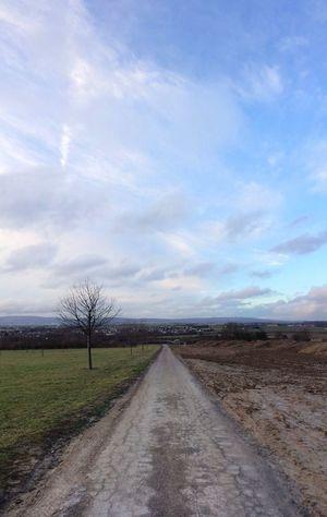 …and #running towards Berkersheim! Trail Running View FromWhereIRun