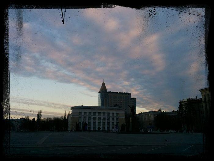 Воронеж, такой красивый на закате) Walking Around Sunset Beautiful