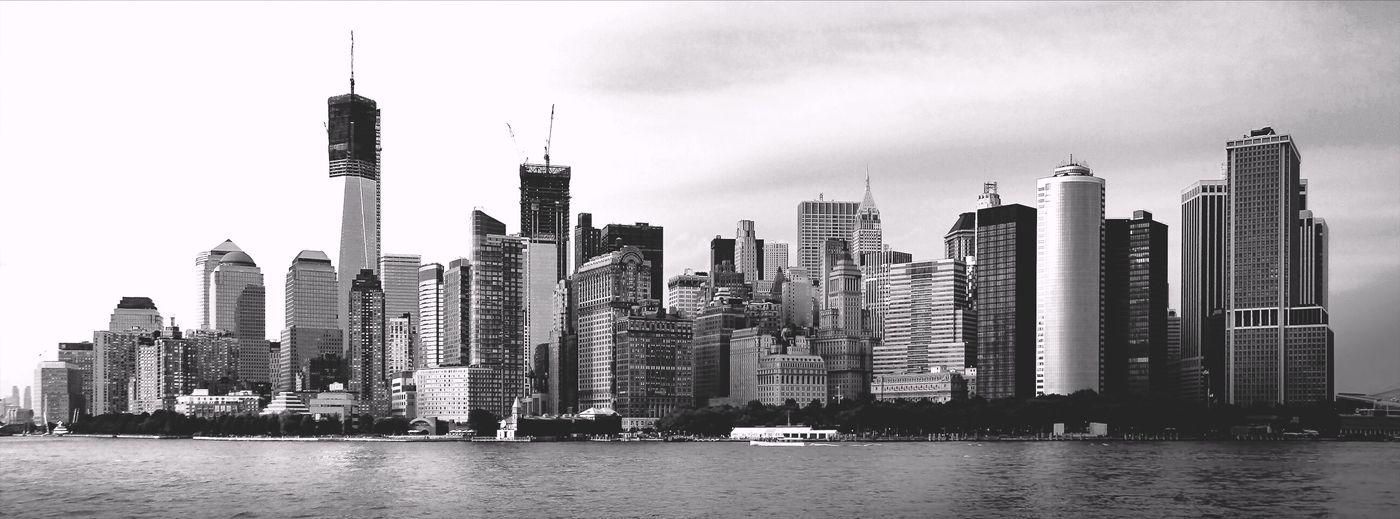 Urban Skyline Manhattan NYC