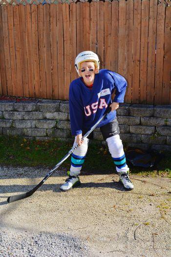 ILOVEMYSON Handsome Boy Athlete Hockey