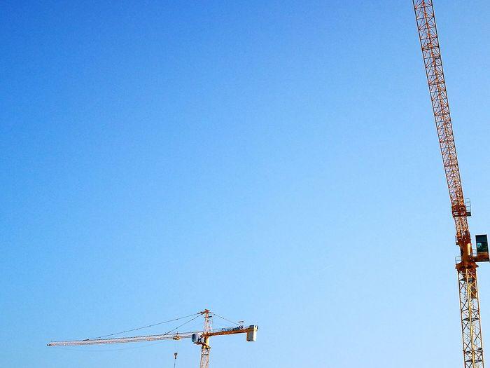 Sky Blue Sky Building Construction