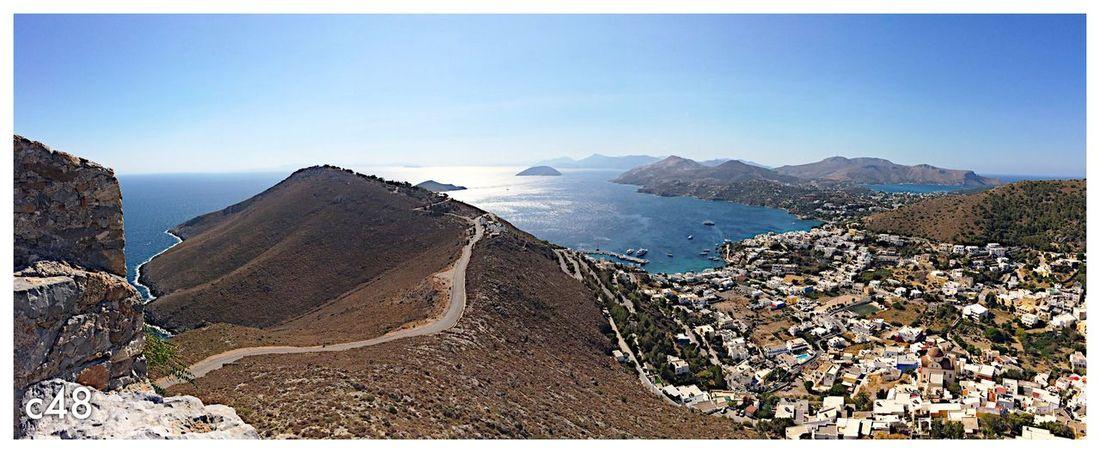 Leros, Dodecaneso Landscape Panoramic Greece Leros Island Leros
