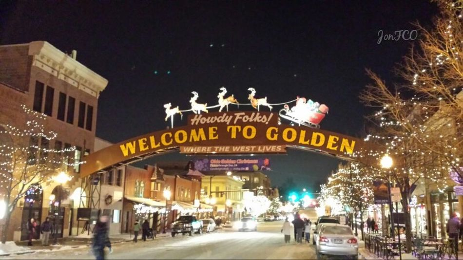 One of my favorite towns. Taking Photos Colorado Happy Holidays! Golden, Co