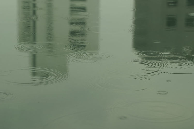 Close-up of rippled water