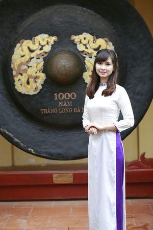 áo Dài ❤ Hoàng Thành Hà Nội, Việt Nam
