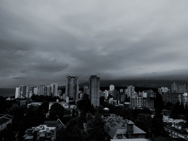 Thunder in the sky Englishbay