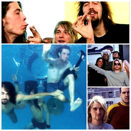 Band Grunce Kurt Krist Nirvana Foreverandalways Rock'n'Roll Popular Photos Album Cover Nirvana Day First Eyeem Photo