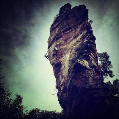 Kletterfelsen Pfalz Deutschland. Dein Tag Climbing Palatinate #iphone6plus