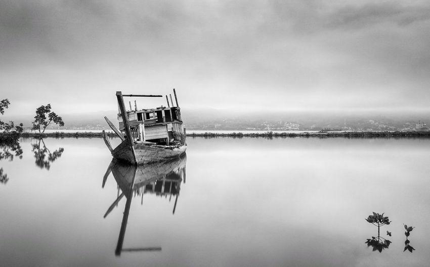 the boat in