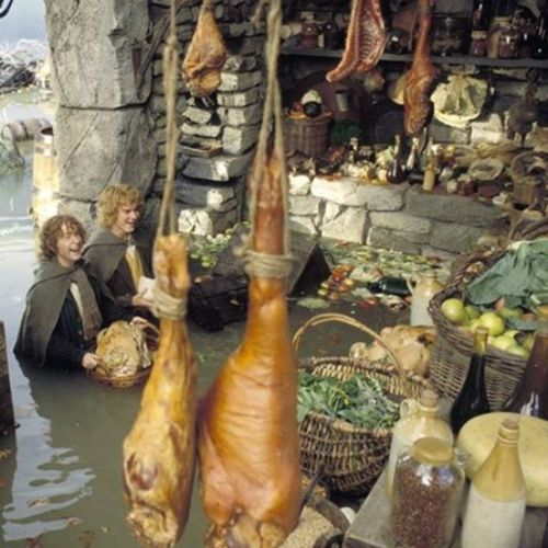 Taking the Hobbits to Isengard wasn't such a bad idea after all. LOTR Merry Pippin Favorite scene