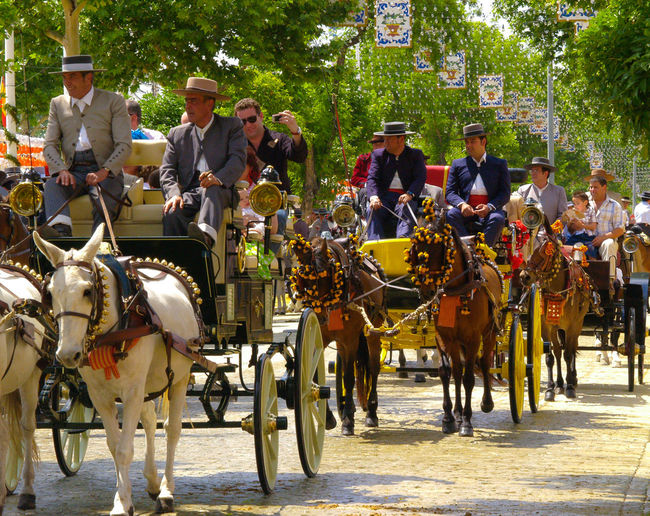 Feria de Abril de Sevilla. Andalucía. España. Feria De Abril Seville Tradiciones Andalucía Sevilla