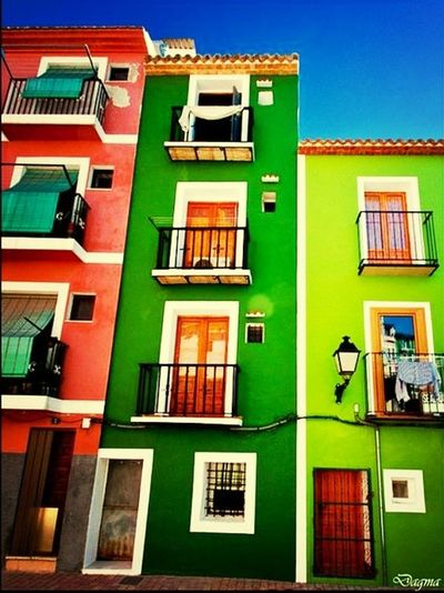 Casa de la Vila Villajoyosa Lavila Casas Colores