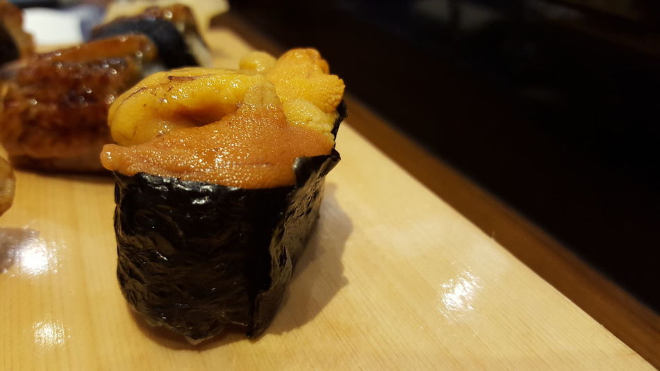 uni sushi Sushi Sushilover Sushi! Japanese Food Delicious Sushi Lover Food And Drink Close-up Food Freshness Sweet Food Ready-to-eat