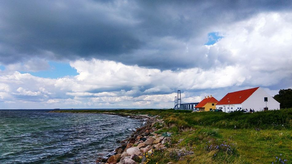 Denmark Storebæltsbroen Sjælland Scandinavia Houses And Windows Bridge - Man Made Structure