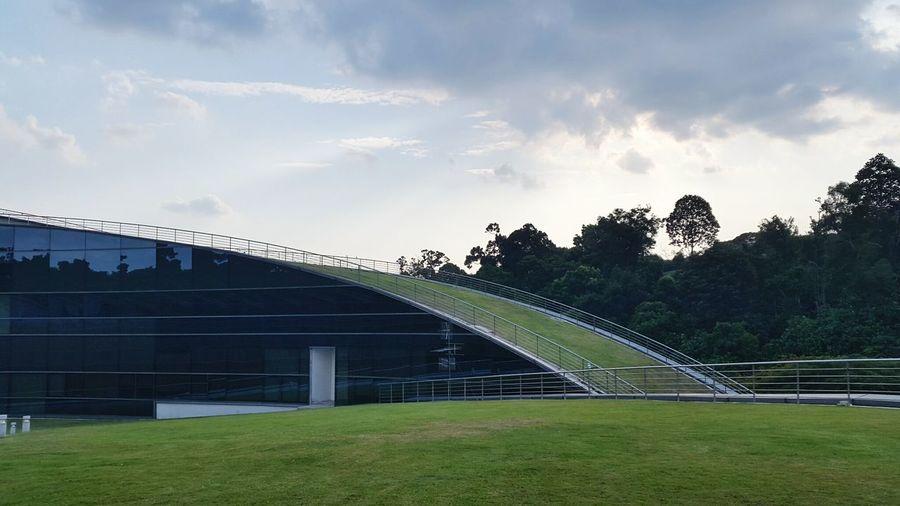 Nanyang Technological University Ntu Adm School Of Art Design And Media Rooftop Garden