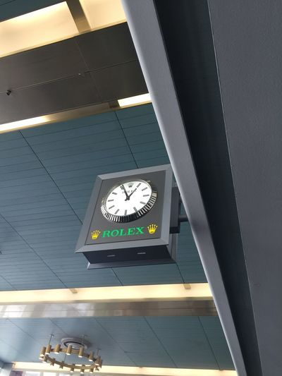Rolex Horloge Airport Clock Clock Face Instrument Of Time Day