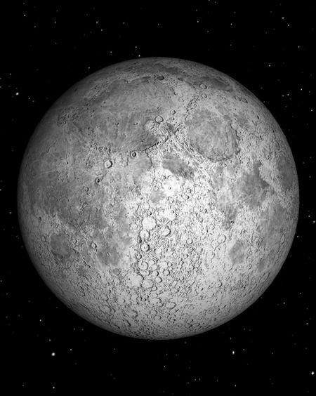 Fullmoon Sky Love Space #moon