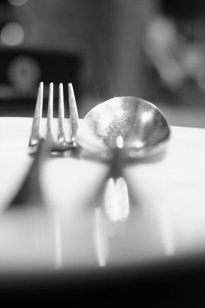 Spoon Close-up Cutlery Dining Room Table Foodporn Fork Selective Focus Table