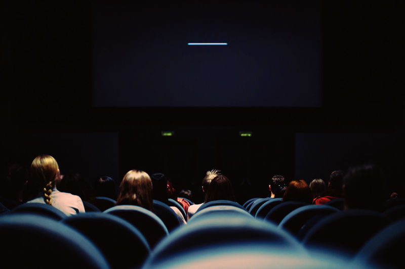 Discover Your City EyeEm The Week On EyeEm Audience Auditorium Canon Cinema Education Group Of People Illuminated Indoors  Large Group Of People Learning Light And Shadow Men MOVIE People Real People Science Fiction Student Watching