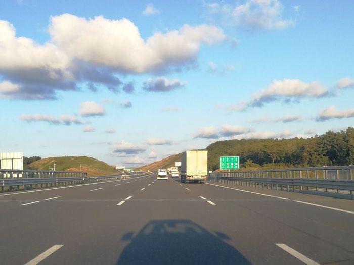 Roadtrip Roadster Mercedes-Benz Cabriolet City Road Sky Cloud - Sky Asphalt