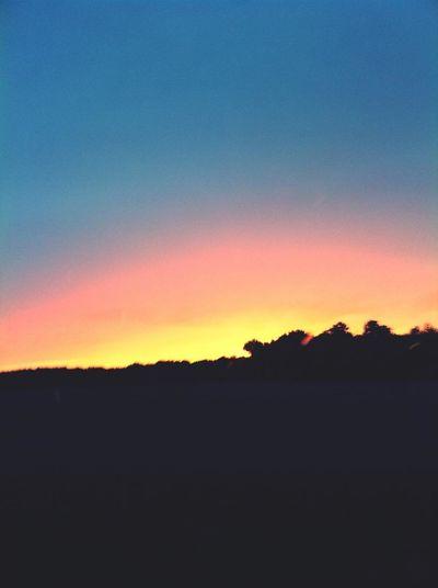Couché De Soleil chez Moi . Sunset