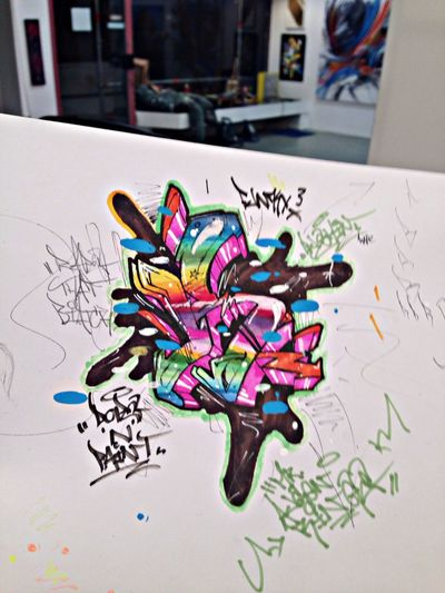 sketchinng !!! Copicmarkers Graffiti Dr.drax Style