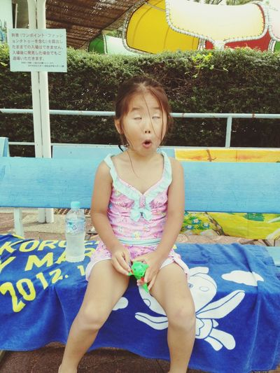 Escaping From The Heat Kids Swimming Funny Faces