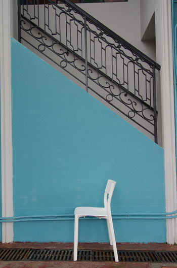 Chair EyeEm EyeEm Best Shots EyeEm Gallery Hong Kong HongKong Relaxing Tranquility Architecture Building Exterior Built Structure Staircase Steps And Staircases Tranquil Scene
