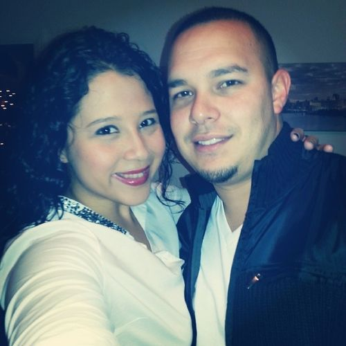 Happy New year from the Urbinas ♥♥ be safe @roburbina15 Husbandandwife Urbinanewyear Blessed  Myhusbandishot