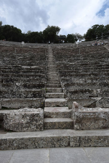Ancient Ancient Ancient Civilization Ancient Culture Ancient History Ancient Ruins Ancient Town Architecture Epidaurus Greece Historic Historical Building Historical Monuments Historical Place Historical Sights History Monument Old Old Ruin Steps Steps And Staircases The Past Theater Theatre Theatre Arts