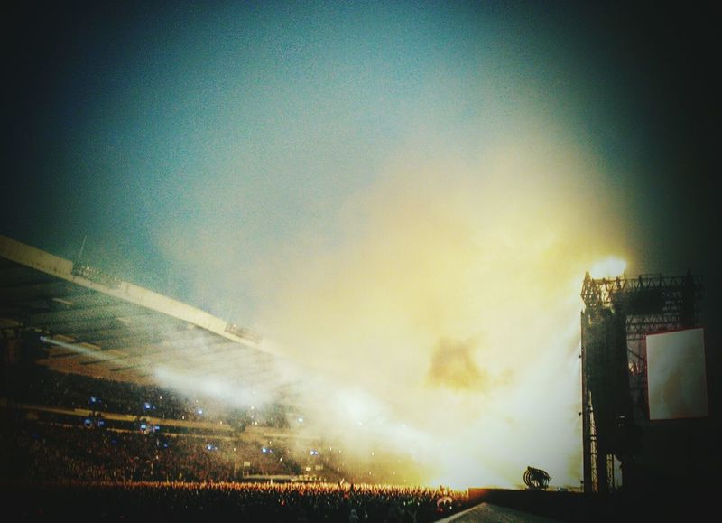 Concert Hampden AC⚡DC Gig Live Music Music Rock & Roll Crowds Crowd Lights Smoke Dry Ice Fog Outdoors Stage Stage Lights Floodlight Gig Photography Gigs