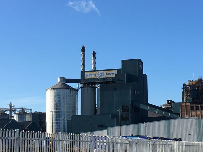 Sugar ... The Tate & Lyle sugar factory in North Woolwich Built Structure Architecture Clear Sky Factory LONDON❤