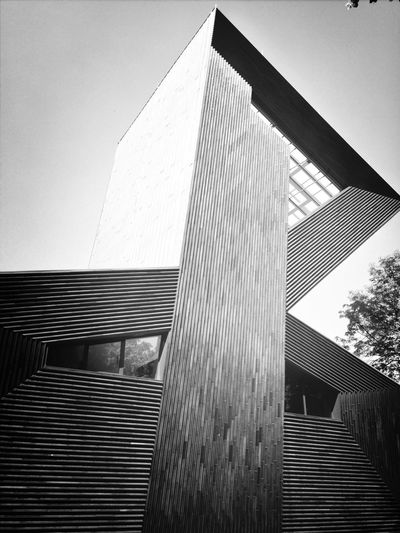 Architecture Black And White Synagoge Mainz