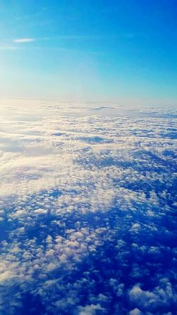 Somewhere In The Sky Clouds Plane Freedom