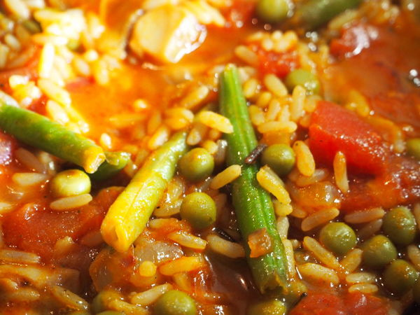 Cooking Green Lifestyle Paella Red Vegetarian Bean Close-up Colour Food Food And Drink Freshness Full Frame Healthy Healthy Eating High Angle View Indoors  Meal Meatless No People Ready-to-eat Selective Focus Still Life Vegan Vegetable
