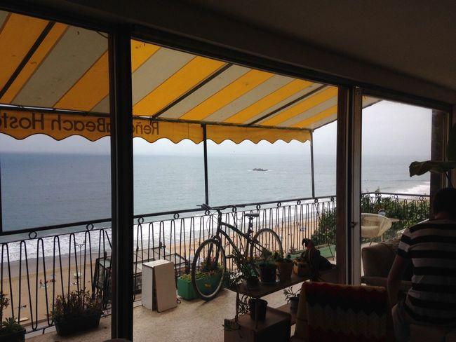 Cloudy Skies Connection Day EyeEm Best Shots Hostel Life Is A Beach Reñaca Sea Sunlight View