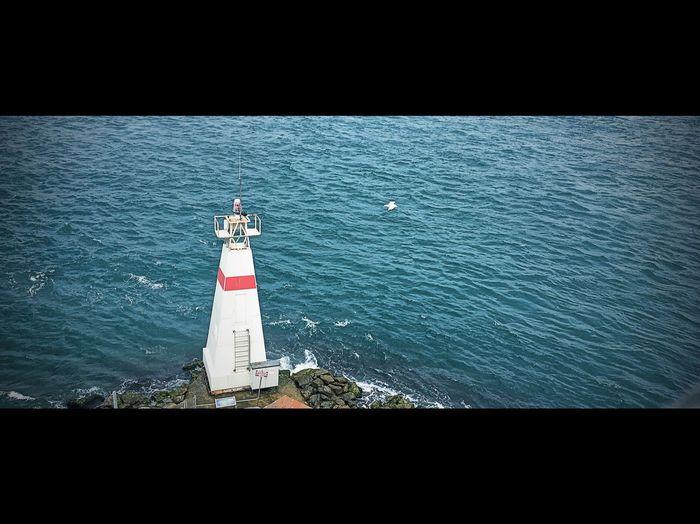 Lighthouse Sea Architecture Reflection Ferry Views Maidentower Turkey