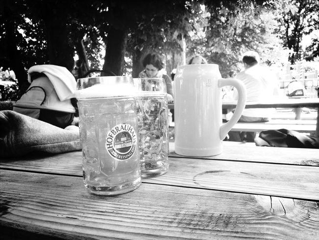 Beer Biergarten Bayern