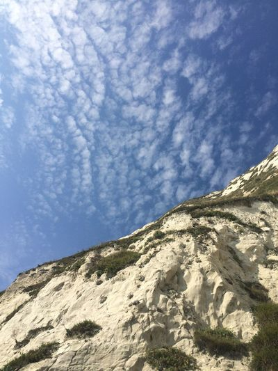 White Cliffs Of Dover Samphire Hoe Sun Cliffside Sky Clouds Clouds And Sky Beautiful Chalk Cliffs