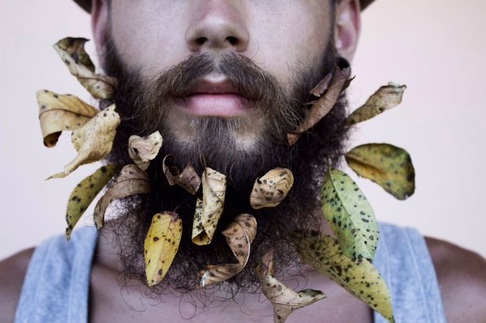Beard Flower Model Fashion Autumn feeling :) like and follow me!