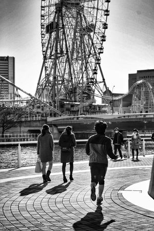 Shot in Yokohama. For other awesome pictures from Japan please check out my facebook page www.facebook.com/lunforpictures Japan Yokohama Tokyo Blackandwhite Daytimeproject