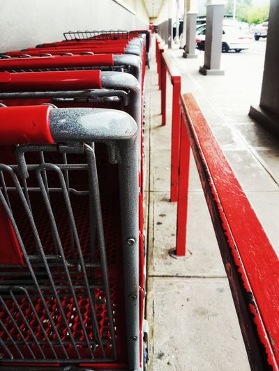 Colors And Patterns Dailylife Supermarket Trolleys Bars
