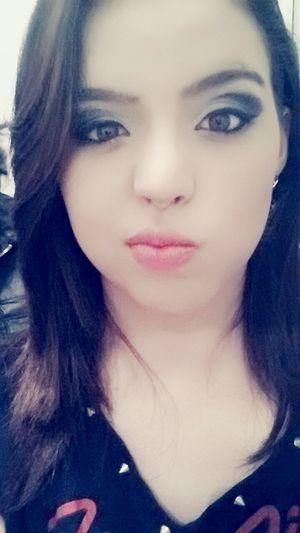 makeup feita por mim Prima