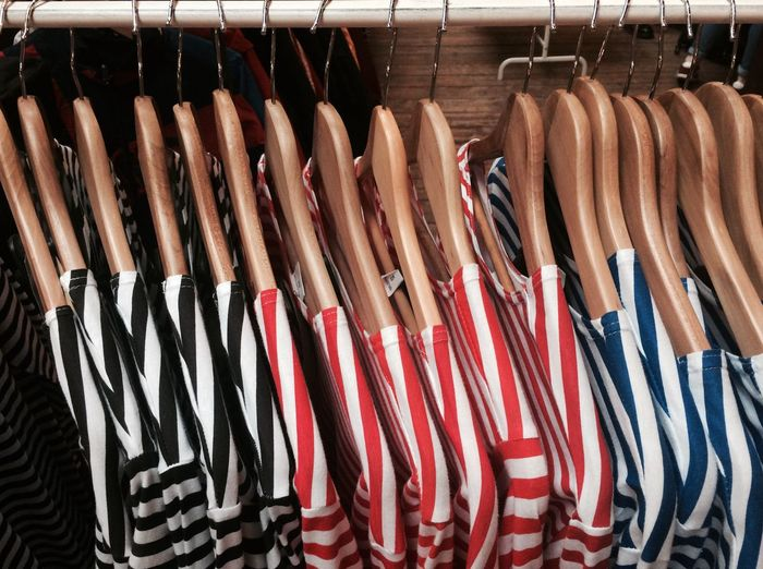 Sailor Shirts Hangers Clothing Stripes Pattern Stripes Jumpers  Store Springlook Everything In Its Place Showcase March