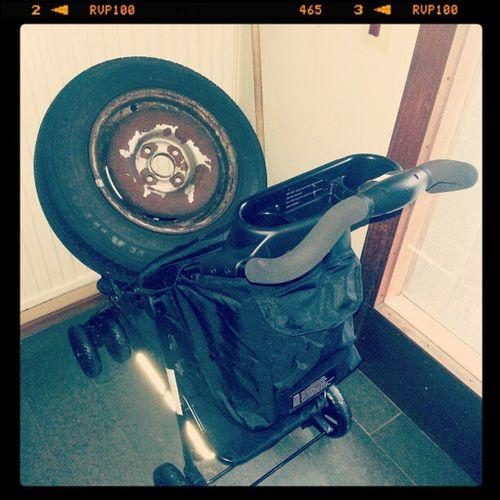 Jahapp... Barnvagn Däckpåhjul
